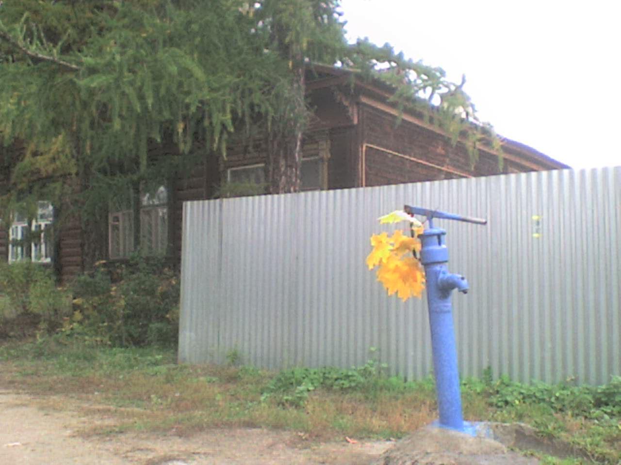 Осень в Серпухове